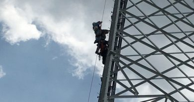 Comtrain Certified climber rescues co-worker