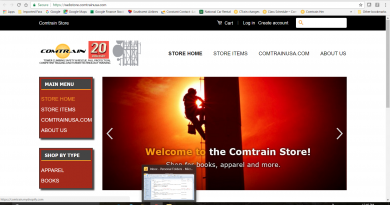 Updated Comtrain On-Line Store Opens